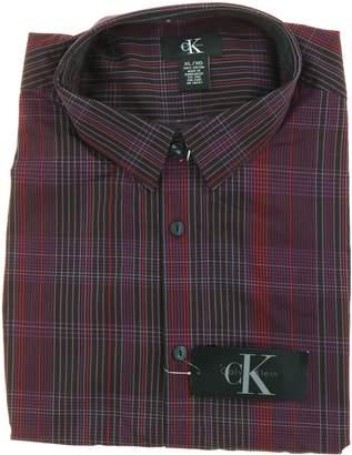 Calvin Klein Men's Casual Dress Button Front Shirt