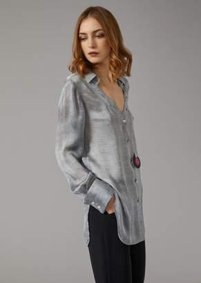 Giorgio Armani Oversize Silk Shirt