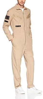 GUESS Men's Patchwork Jumpsuit