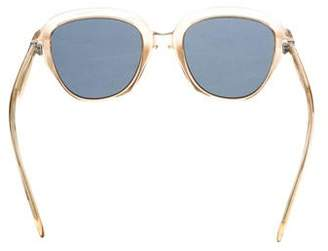 Celine Ava Round Sunglasses