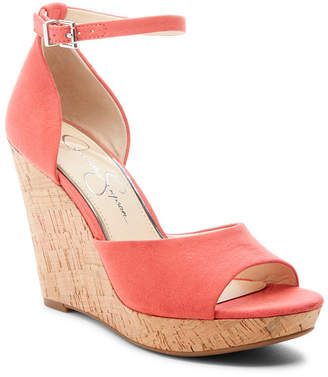 Jessica Simpson Jarella Wedge Sandals Women Shoes