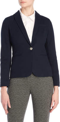Tommy Hilfiger Peaked Lapel Fitted Blazer