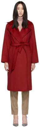 Max Mara Red Manuela Icon Coat