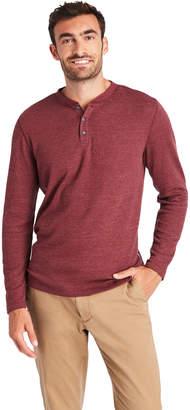 Vineyard Vines Timber Waffle Long-Sleeve Henley Shirt