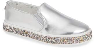 Steve Madden Jglorie Glitter Slip-On Sneaker