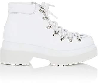 MM6 MAISON MARGIELA Women's Leather Platform Ankle Boots