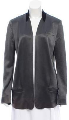 Alexander Wang Open Front Satin Jacket