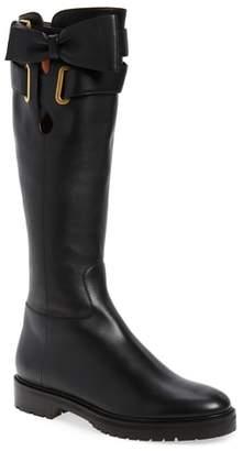 Valentino Bowrap Knee-High Boot