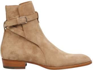 Saint Laurent Wyatt 30 Jodhpur Ankle Boots