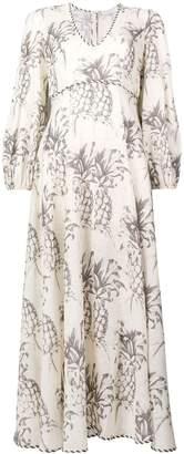 Zimmermann Wayfarer pineapple printed dress