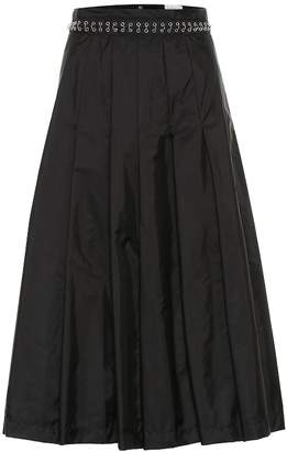 Noir Kei Ninomiya Moncler Genius 6 MONCLER nylon midi skirt