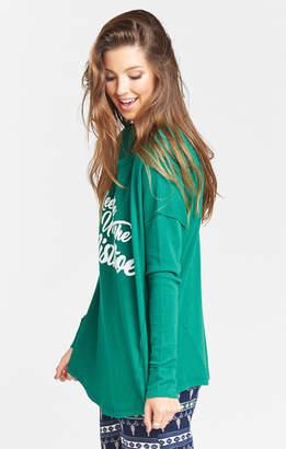 Show Me Your Mumu Bosco Ski Top ~ Mistletoe Graphic