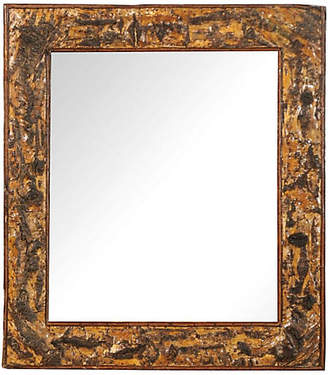 One Kings Lane Vintage French 19th-c. Mirror with Bark Frame - Heather Cook Antiques