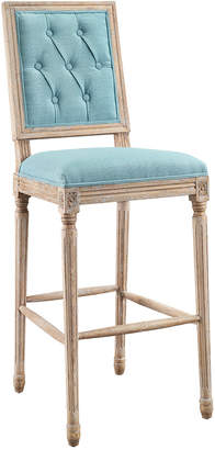 Linon Liberty Square Back Bar Stool