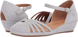 Gentle Souls by Kenneth Cole Women's Naira Demi Wedge Sandal with Caged Toe Sandal