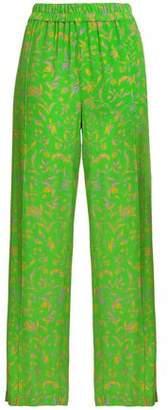 Baum und Pferdgarten Floral-jacquard Straight-leg Pants