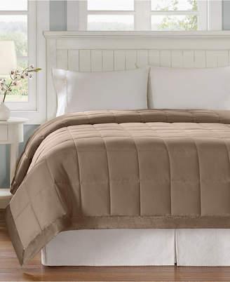 Madison Park Windom Full/Queen Down Alternative Blanket, Microfiber with 3M Scotchgard moisture management treatment Bedding
