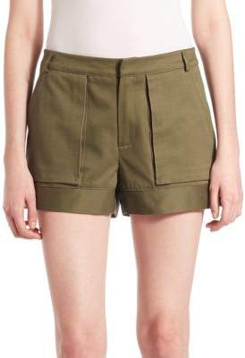 Ari Four-Pocket Cotton Cargo Shorts