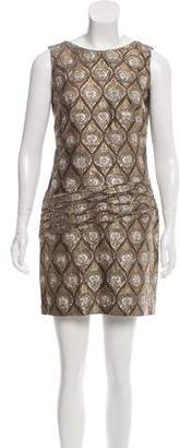 Jay Ahr Metallic Mini Dress w/ Tags