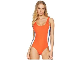 RVCA July One-Piece Women's Swimsuits One Piece