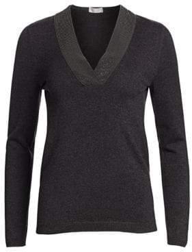 Brunello Cucinelli V-Neck Cashmere Sweater