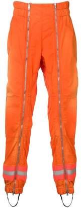 Calvin Klein zip detail trousers