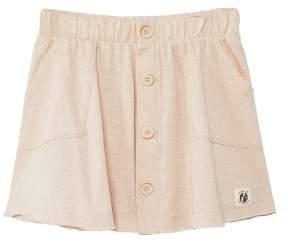 MANGO Organic cotton buttoned skirt