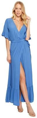 Lucy-Love Lucy Love Enchanted Wrap Dress Women's Dress