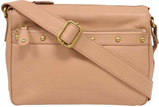 Great American Leatherworks Leather East/West Crossbody Bag $120 thestylecure.com