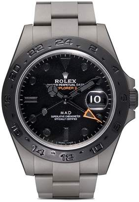 Rolex MAD Paris Black Mad Explorer II watch
