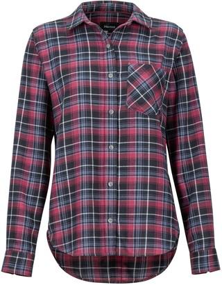 Marmot Women's Maggie Lightweight Flannel Long-Sleeve Shirt