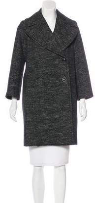 Nili Lotan Knee-Length Notch-Lapel Coat
