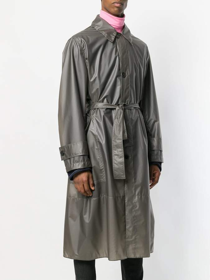 Calvin Klein long trench coat