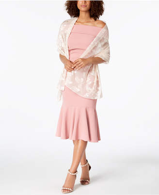 INC International Concepts I.N.C. Blossom Shadow Evening Wrap, Created for Macy's