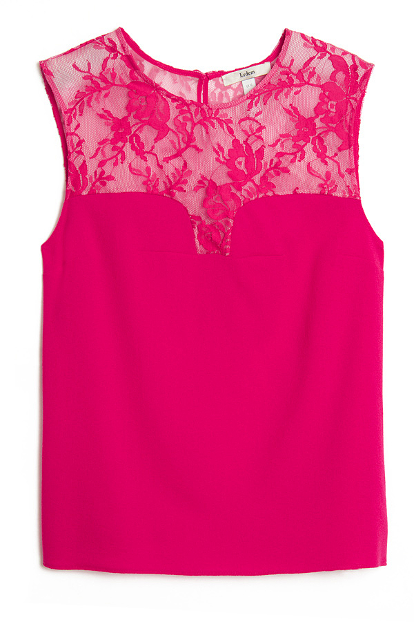 Erdem Toni Sleeveless Top