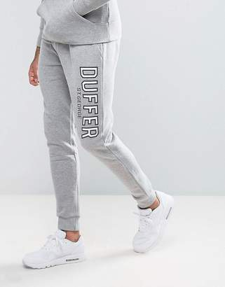 The DUFFER of ST. GEORGE Skinny Joggers In Gray