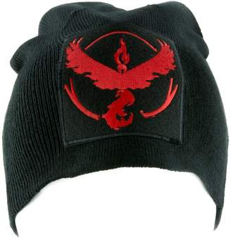 Pokemon YDS Accessories Team Valor Red Go Beanie Alternative Style Clothing Knit Cap