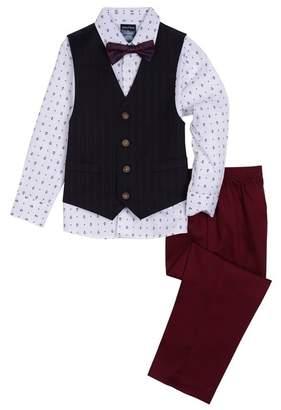 Nautica Anchor Shirt 4-Piece Suit (Little Boys)