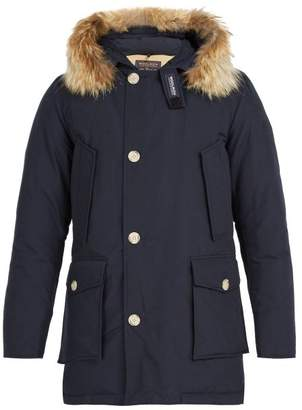 Woolrich Arctic Down Filled Parka - Mens - Navy
