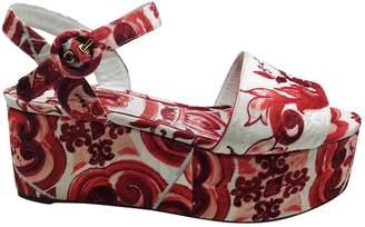 Dolce & Gabbana Cloth sandal