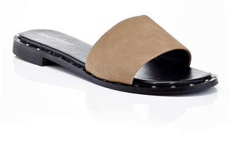 HENRY FERRERA Henry Ferrera Motive-200/Black Womens Flat Sandals