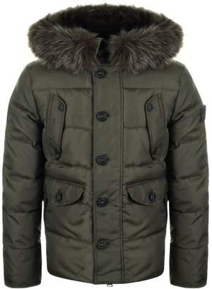 Superdry Chinook Puffer Jacket Khaki