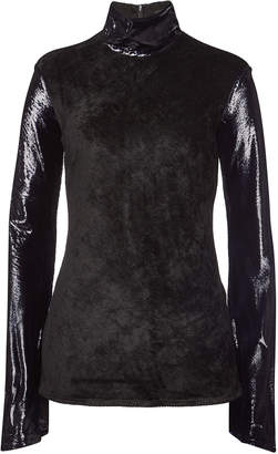 Ellery Gagosian Long Sleeved Top with Silk