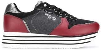 Trussardi Jeans block heel sneakers