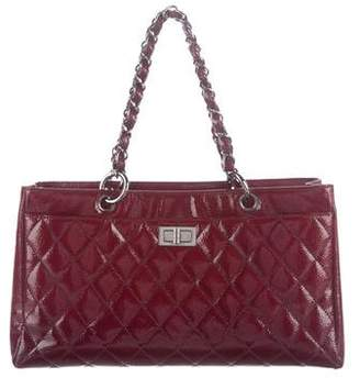 Chanel Glazed Calfskin Reissue Shopping Tote