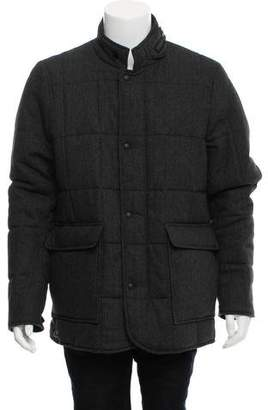 Woolrich Wool-Blend Knee-Length Coat w/ Tags