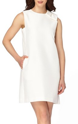 Women's Tahari Stretch Shift Dress $128 thestylecure.com