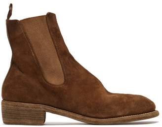 Guidi Suede Chelsea Boots - Mens - Tan