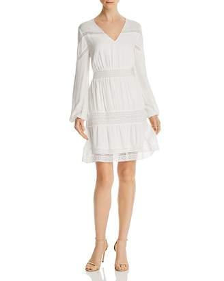 GUESS Deana Lace-Inset Dress