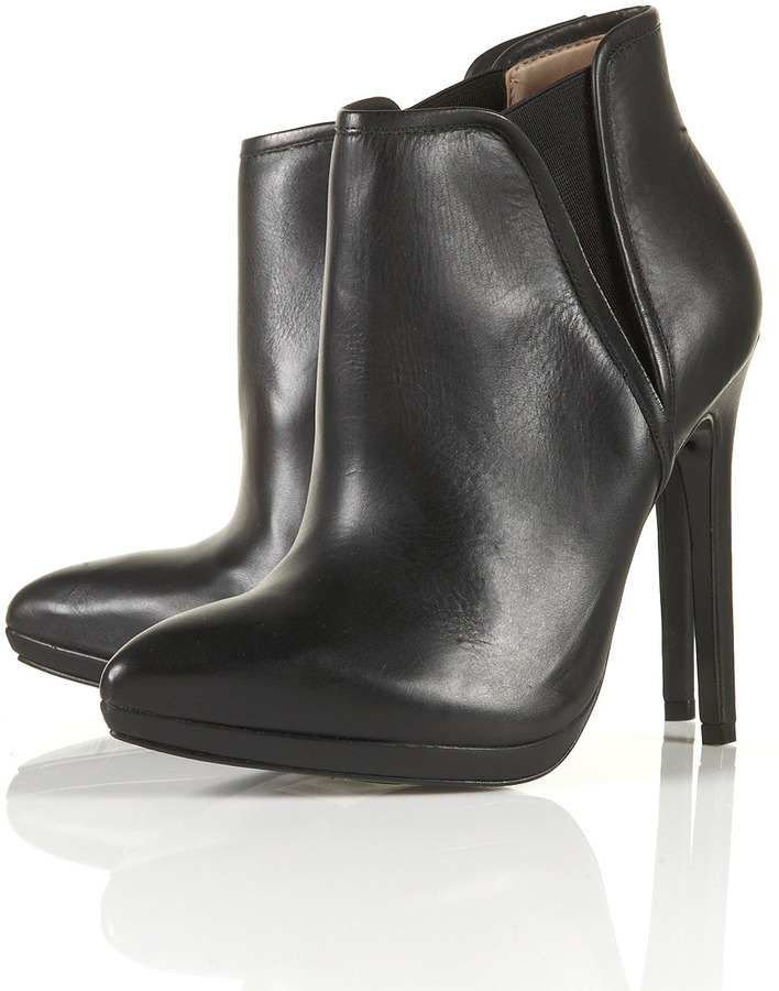 Topshop PRODIGY Point Ankle Boots